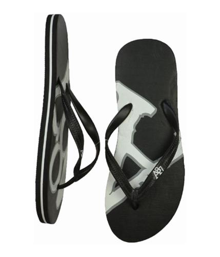 Aeropostale Mens A87 Flip Flop Sandals black S