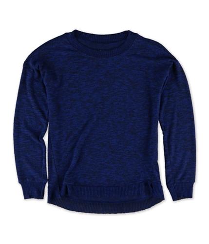 Aeropostale Girls Marled HI-Lo Pullover Sweater 412 L