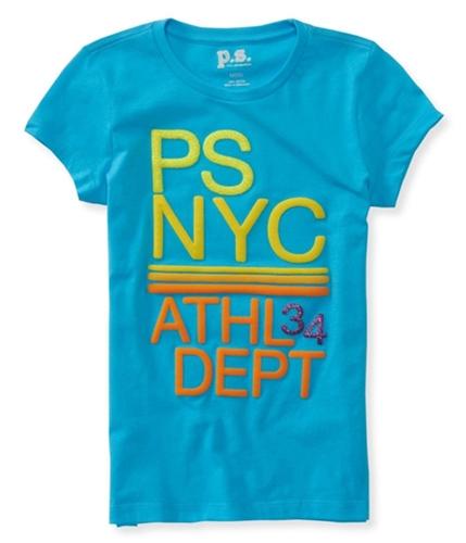 Aeropostale Girls NYC Athl Dept 34 Graphic T-Shirt 789 4