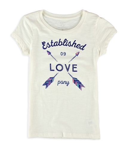 Aeropostale Girls LOVE psny Graphic T-Shirt 047 5