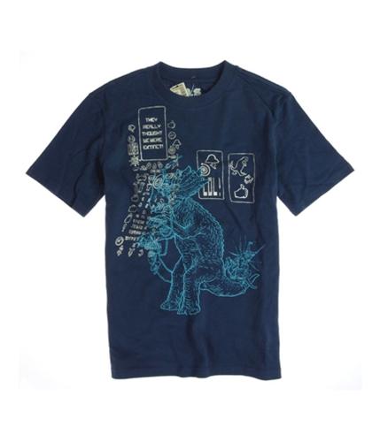 Aeropostale Boys P.s. Dinasaur Graphic T-Shirt bluela L
