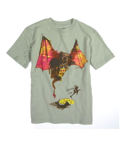 Aeropostale Boys P.s. Aaaggghhh! Ss Graphic T-Shirt patina S