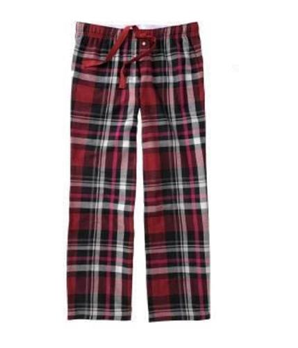 Aeropostale Womens Flannel Plaid Sleep Pajama Lounge Pants cherryred XXS/32