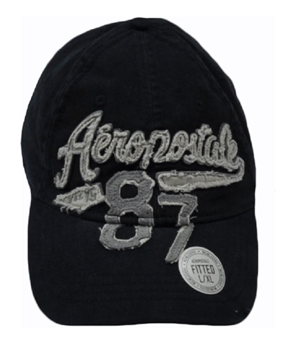 Aeropostale Mens Embroidered Est. 1987 Baseball Cap deepnavyblue S/M