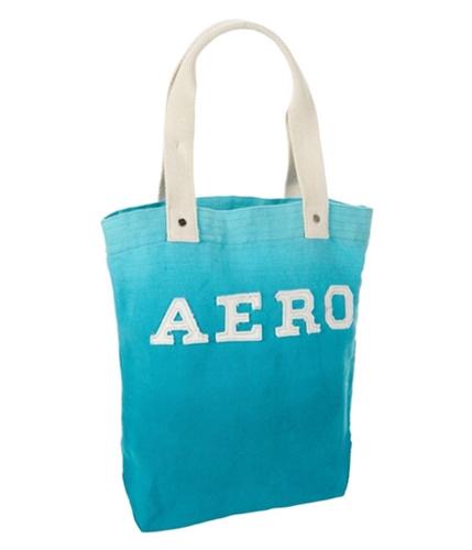 Aeropostale Womens Aero Shoulder Tote Handbag Purse surfteal