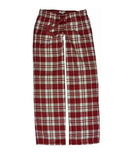 Aeropostale Womens Flannel Plaid Pajama Lounge Pants cherryred XS/32