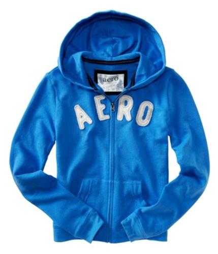 Aeropostale Womens Aero Hoodie Sweatshirt heavenlyblue XS