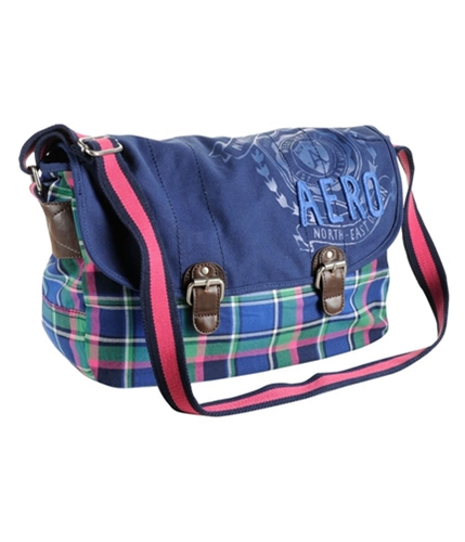 Aeropostale Womens Tote Laptop Book Shoulder Handbag Purse navyni