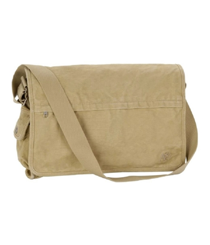 Aeropostale Womens Solid Laptop Messenger Bag claybrown