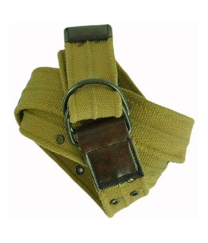 Aeropostale Mens Canvas Leather Belt tan XL