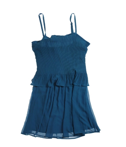 Petticoat Alley Womens Lined Sundress blue M