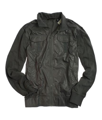 Sean John Mens Full Zip Knit Back Field Jacket pmblack 2XL