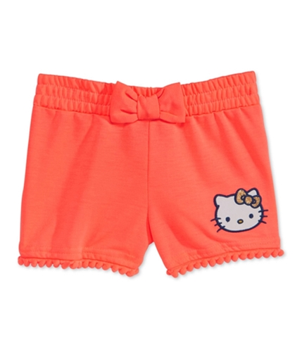 evy of California Girls Hello Kitty Pom-Pom Casual Walking Shorts