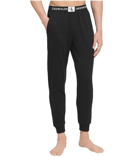 Calvin Klein Mens Monogram Logo Pajama Jogger Pants