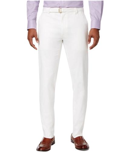 Sean John Mens Herringbone Casual Trouser Pants sjcream 44 Big/30