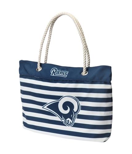 Forever Collectibles Womens Nautica Stripe Tote Handbag Purse