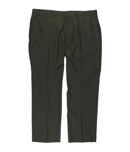 Tallia Mens Solid Color Dress Pants Slacks taupe 34x32