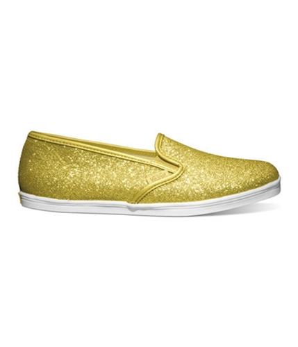 Vans Unisex Lo Pro Glitter Sneakers glittergoldtruewhite M3.5 W5