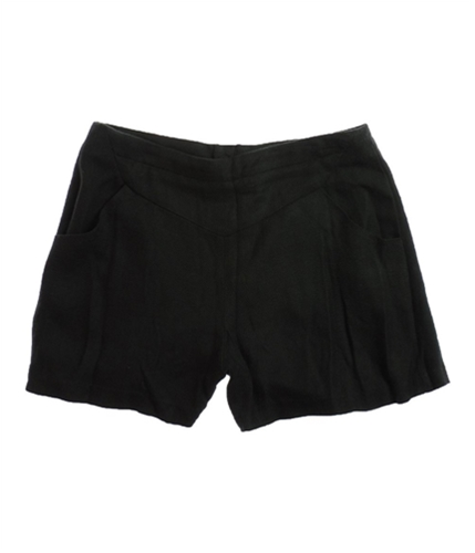 W118 Womens Rebecca High Waist Walking Dress Shorts black S