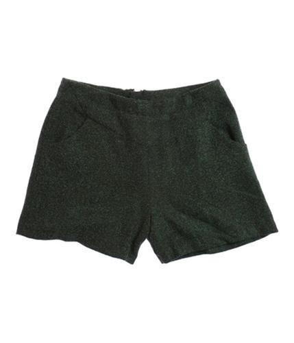 W118 Womens Rebecca High Waist Walking Dress Shorts green S