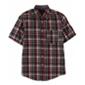 Ecko Unltd. Mens Bright Plaid Ss Button Up Shirt