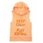 Justice Girls Keep Calm Softball Embellished T-Shirt
