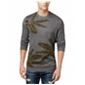 American Rag Mens Palm Intarsia Knit Pullover Sweater