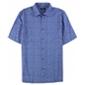 Alfani Mens Abstract-Print Ss Button Up Shirt