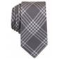 Bar Iii Mens Canton Plaid Necktie