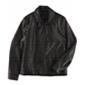 Tommy Hilfiger Mens Shirt Collar Motorcycle Jacket
