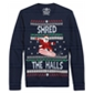 American Rag Mens Shred The Halls Pullover Sweater