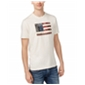 American Rag Mens Patch Flag Graphic T-Shirt
