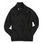 Bar Iii Mens Full Zip Mock Neck Knit Sweater