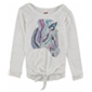 Belle Du Jour Girls Zebra Graphic T-Shirt