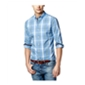 Club Room Mens Wentworth Plaid Ls Button Up Shirt