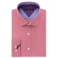 Tommy Hilfiger Mens Check Button Up Dress Shirt