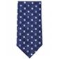 Tommy Hilfiger Mens Indigo Squares Slim Self-Tied Necktie