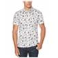 Perry Ellis Mens Floral Button Up Shirt