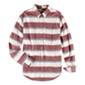 Aeropostale Mens Multi Striped Button Up Shirt