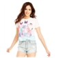 Aeropostale Womens X-Ray Kitten Graphic T-Shirt