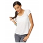 Aeropostale Womens Sequined Chiffon Embellished T-Shirt