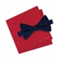 Tommy Hilfiger Mens Conversational Tree Pin Dot Self-Tied Bow Tie
