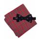 Tommy Hilfiger Mens Reindeer Silk Self-Tied Bow Tie