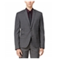 Bar Iii Mens Check Two Button Blazer Jacket