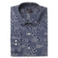 Bar Iii Mens Patchwork Button Up Dress Shirt