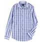 Bar Iii Mens Bold Gingham Button Up Dress Shirt