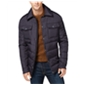 Ryan Seacrest Distinction Mens Down Cpo Quilted Jacket
