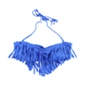 Raisins Womens Fringed Bandeau Swim Top