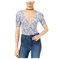 Free People Womens Hollywood Printed Pullover Blouse