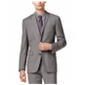 Bar Iii Mens Glen Plaid Two Button Blazer Jacket